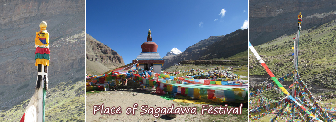 Place of Sagadawa Festival