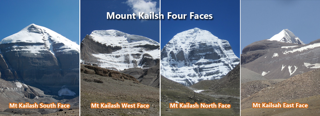 Four Face in Kailash