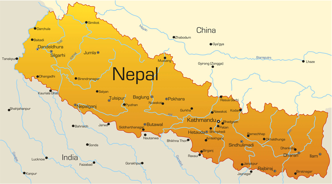 Nepal Visa Information About Kailash Tour Mount Kailash And - Nepal on map