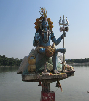 Tribeni Shiva God